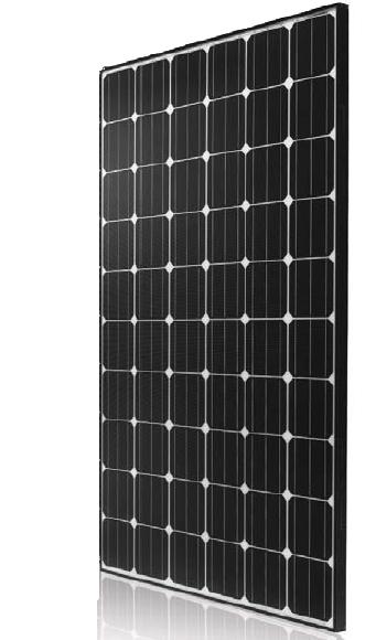 LG Solar 285W, 300W, 315W, Neono 2X, Mono, Black
